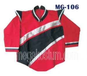model baju marchingband