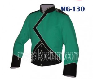 seragam drumband hijau