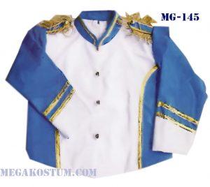 baju seragam drumband biru putih