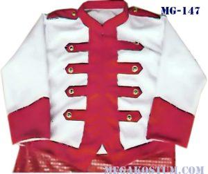 baju seragam drumband merah putih