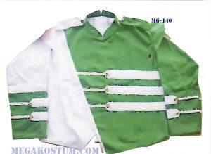 baju sragam drumband hijau putih