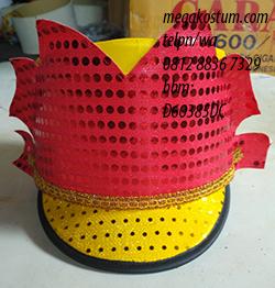 produksi topi drumband terbaru